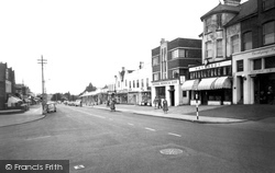 Haywards Heath, The Broadway 1958
