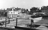 Haywards Heath, the Crossroads c1950