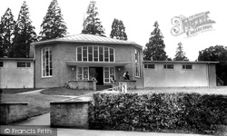 Haywards Heath, The Library c.1960