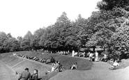 Haywards Heath, the Recreation Ground c1950