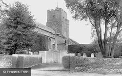 Heacham, Church Of St Mary The Virgin And War Memorial 1921