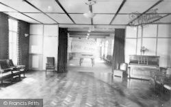 Heacham, High House, Social Hall And Games Room c.1955