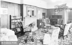 Heacham, High House, The Lounge c.1955