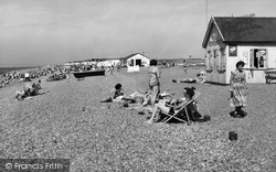 Heacham, North Beach c.1960