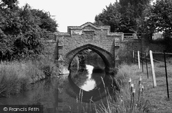 Heacham, Old Roman Bridge c.1962