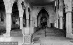 Heacham, The Church Interior 1908