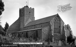 Heacham, The Church Of St Mary The Virgin c.1960