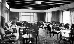 Heacham, The High House, Garden Lounge c.1955