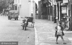 Boy, High Street c.1955, Headcorn
