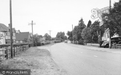 Station Road c.1955, Headcorn