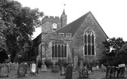 Headcorn, the Church of St Peter and St Paul c1955