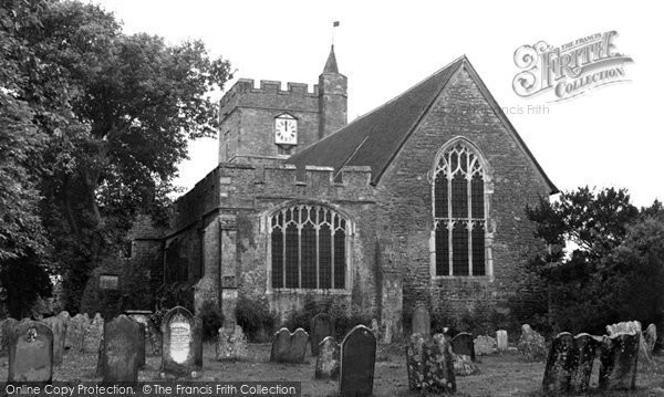Photo of Headcorn, the Church of St Peter and St Paul c1955