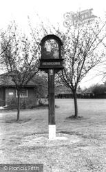 The Village Sign c.1960, Headcorn