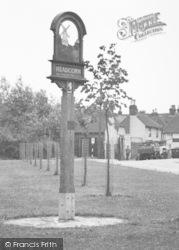 Village Sign, Days Green c.1955, Headcorn