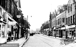 Headingley, Otley Road c.1955