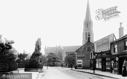 Headingley, St Michael's Church And The Shire Oak 1897