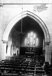 Headingley, The Church, Lady Chapel 1891