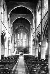 Headingley, The Church, Nave East 1891