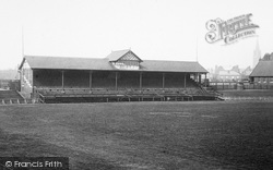 Headingley, The Rugby Football Grandstand 1897