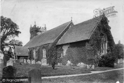 Headley, All Saints Church 1901