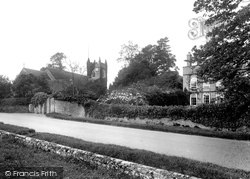 Headley, All Saints Church And Rectory 1925