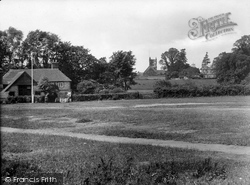 Headley, All Saints Church And School Green 1925