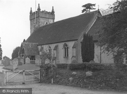 Headley, All Saints Church c.1955