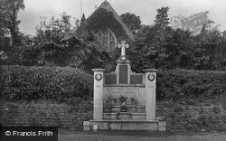 Headley, Church And War Memorial 1925