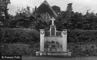 Headley, Church and War Memorial 1925
