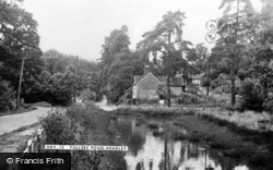 Headley, Fullers Pond c.1955