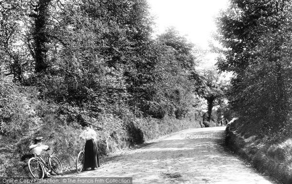 Photo of Headley, Oyster Lane 1906