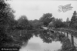 Headley, River Wey 1901