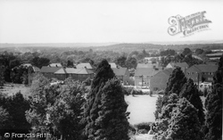 Headley, View From The Church Tower c.1955