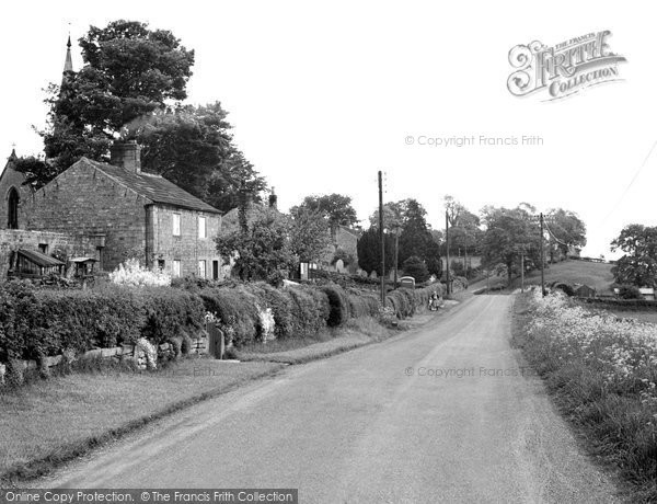 Photo of Healey, The Village c.1955