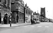 Heanor, Church and Market Place c1960