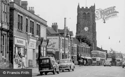 Church And Market Place c.1960, Heanor
