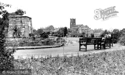 Memorial And St Lawrence's Church c.1960, Heanor