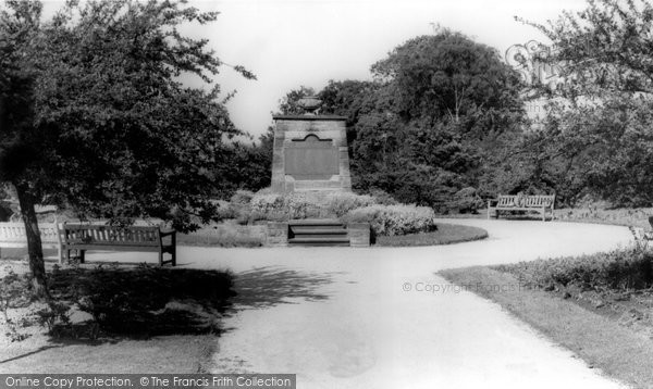 Photo of Heanor, Memorial c.1960