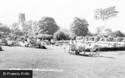 Paddling Pool And Church c.1960, Heanor