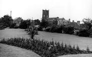 Heanor, Park and Church c1960