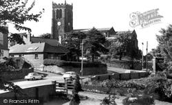 St Lawrence's Church c.1960, Heanor