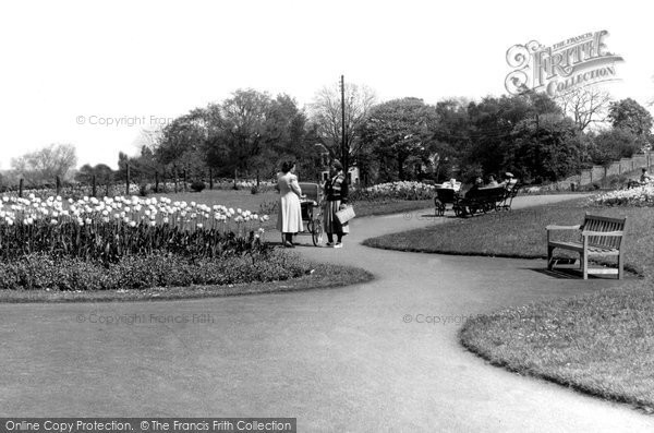 Photo of Heanor, The Park 1960