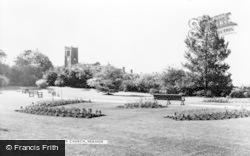 The Park And Church c.1960, Heanor
