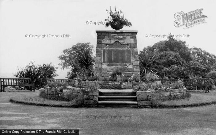 Heanor, War Memorial c1960