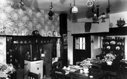 Heasley Mill, the Dining Room, Heasley House c1960