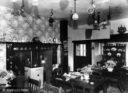 The Dining Room, Heasley House c.1960, Heasley Mill