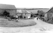 Heasley Mill, the Green c1955