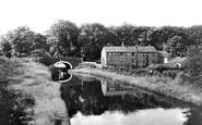 Heath Charnock, the Canal and Rawlinson Bridge c1960