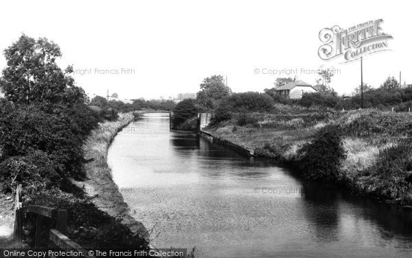Photo of Heath Charnock, The Canal c.1955