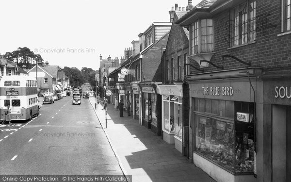 Heathfield, High Street c1960